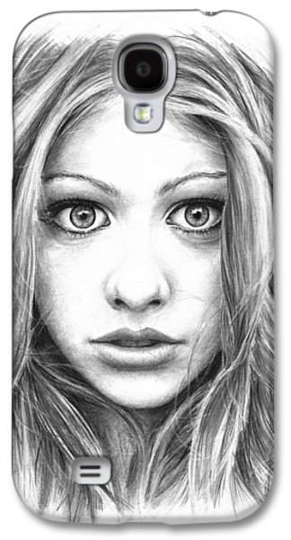 Michelle Trachtenberg Galaxy S4 Case by Ryan Jones