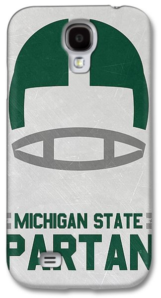 Michigan State Galaxy S4 Case - Michigan State Spartans Vintage Art by Joe Hamilton