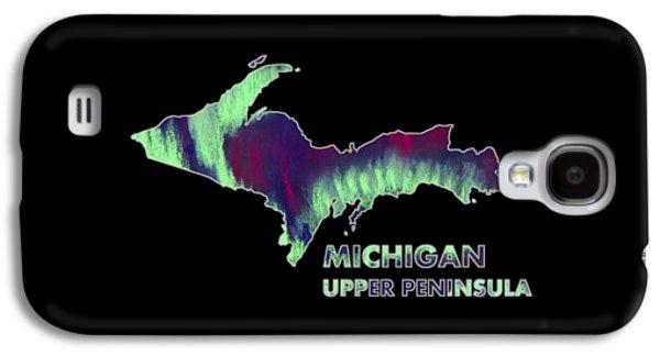 Michigan - Up - Northern Lights - Aurora Hunters Galaxy S4 Case by Anastasiya Malakhova