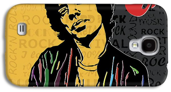 Mick Jagger Galaxy S4 Case by Roby Marelly