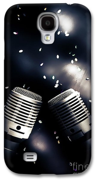 Microphone Club Galaxy S4 Case by Jorgo Photography - Wall Art Gallery