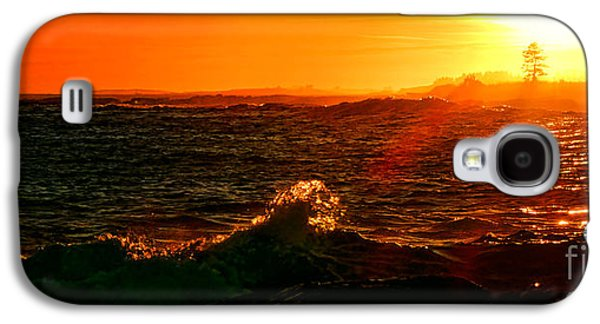 Midcoast Maine Sunset Galaxy S4 Case by Olivier Le Queinec