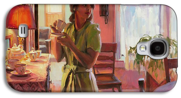 Midday Tea Galaxy S4 Case by Steve Henderson