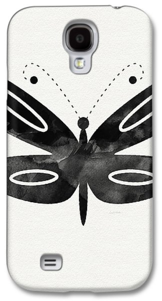 Midnight Butterfly 1- Art By Linda Woods Galaxy S4 Case
