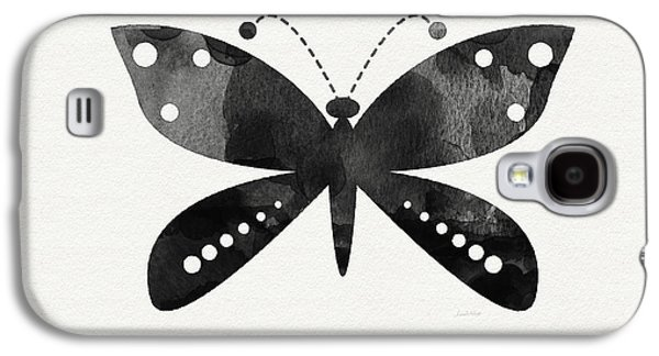 Midnight Butterfly 4- Art By Linda Woods Galaxy S4 Case