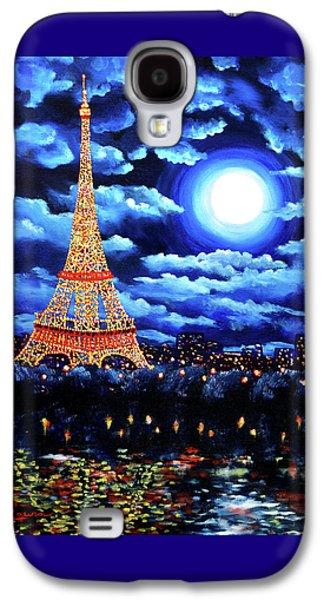 Midnight In Paris Galaxy S4 Case by Laura Iverson