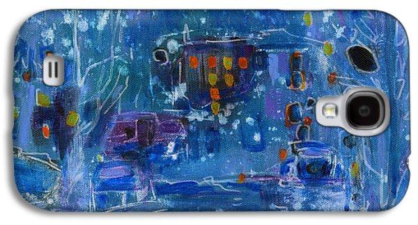 Midnight  Galaxy S4 Case by Tanya Filichkin