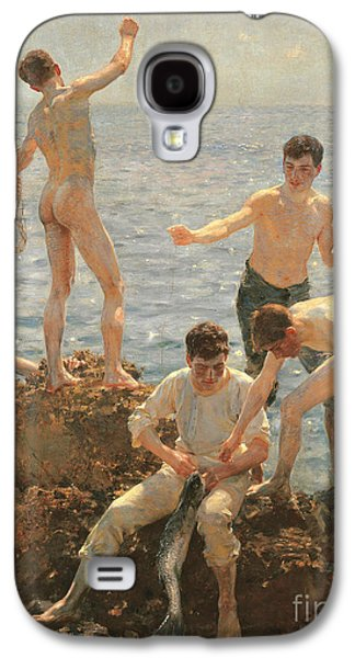 Midsummer Morning, 1908 Galaxy S4 Case by Henry Scott Tuke