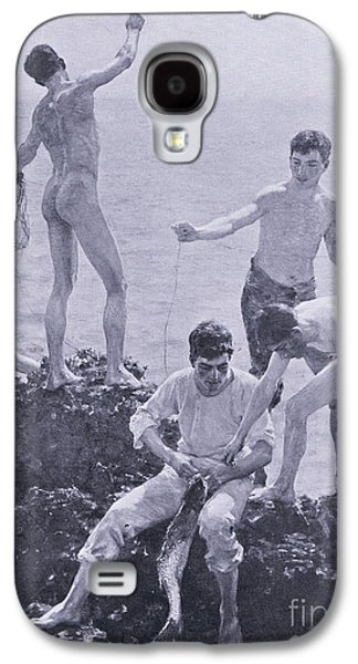 Midsummer Morning Galaxy S4 Case by Henry Scott Tuke