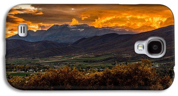 Midway Utah Sunset Galaxy S4 Case