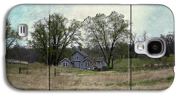 Midwest Country Living Triptych 3 Panel 03 Galaxy S4 Case