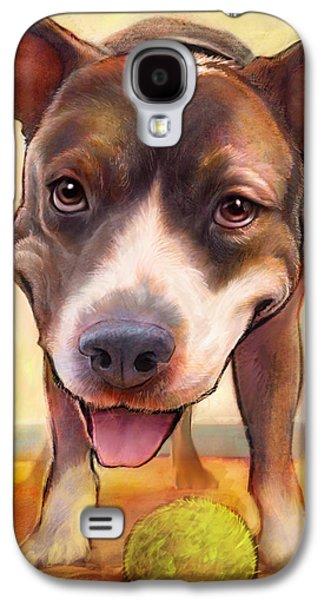 Bull Galaxy S4 Case - Live. Laugh. Love. by Sean ODaniels