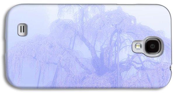 Miharu Takizakura Weeping Cherry01 Galaxy S4 Case by Tatsuya Atarashi