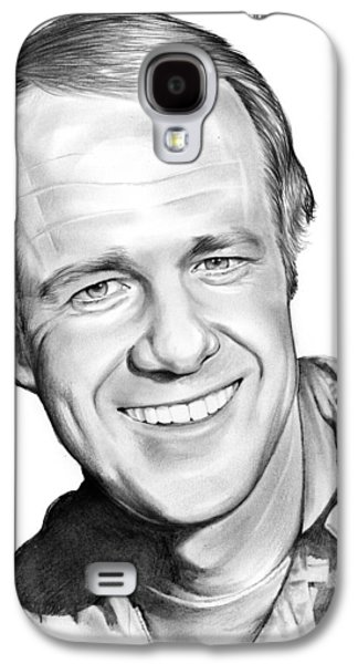Mike Farrell Galaxy S4 Case by Greg Joens