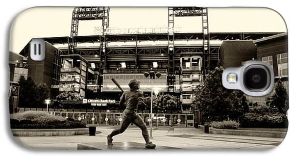Mike Schmidt In Sepia Galaxy S4 Case by Bill Cannon