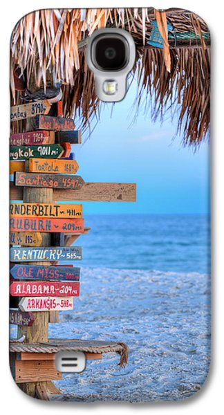 Mileage To Paradise  Galaxy S4 Case by JC Findley