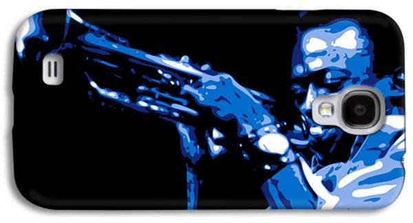 Trumpet Galaxy S4 Case - Miles Davis by DB Artist