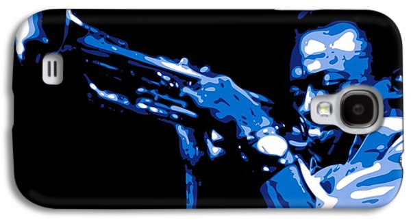 African-american Galaxy S4 Case - Miles Davis by DB Artist