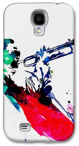Miles Watercolor Galaxy S4 Case by Naxart Studio