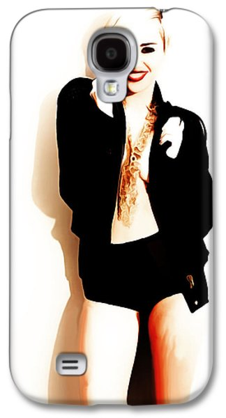 Miley Cyrus Lets Dance Galaxy S4 Case