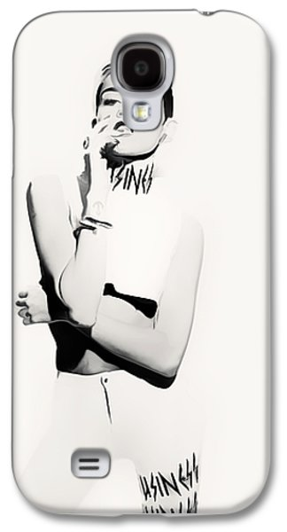 Miley Cyrus Talk Is Cheap Galaxy S4 Case
