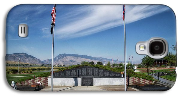 Military Vietnam Memorial Cody Wyoming Galaxy S4 Case