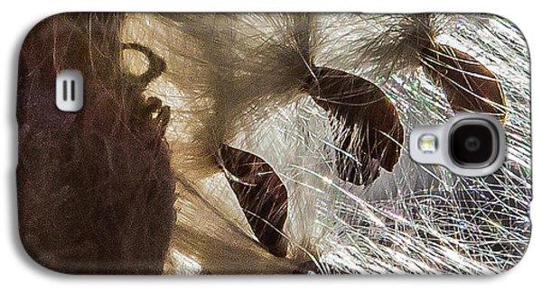 Milkweed Seed Burst Galaxy S4 Case