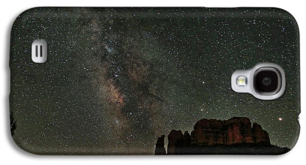 Milky Way Jupiter And Millions Of Sparkling Stars Galaxy S4 Case