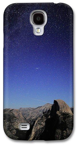 Milky Way Over Half Dome Galaxy S4 Case