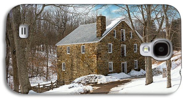 Mill - Cooper Grist Mill Galaxy S4 Case by Mike Savad