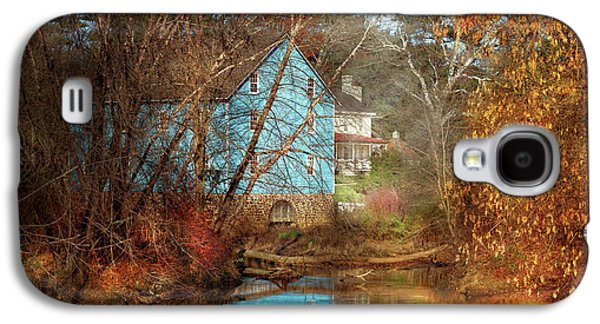 Mill - Walnford, Nj - Walnford Mill Galaxy S4 Case by Mike Savad