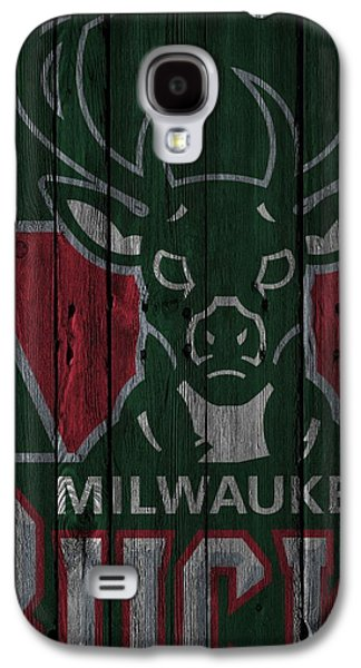 Milwaukee Bucks Wood Fence Galaxy S4 Case