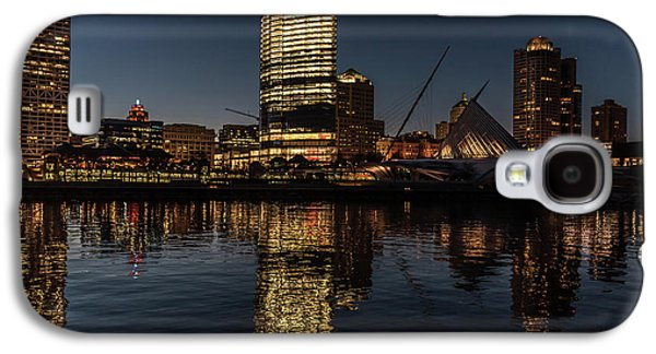 Milwaukee Reflections Galaxy S4 Case by Randy Scherkenbach