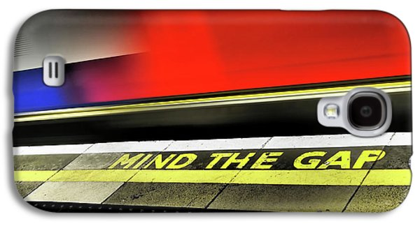 Mind The Gap Galaxy S4 Case by Rona Black