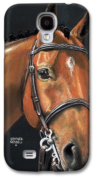 Miner - Bay Horse Portrait Galaxy S4 Case