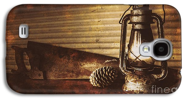 Miners Cottage Details Galaxy S4 Case by Jorgo Photography - Wall Art Gallery