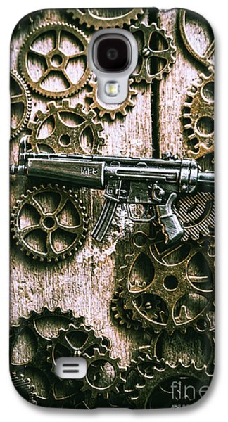 Miniature Mp5 Submachine Gun Galaxy S4 Case by Jorgo Photography - Wall Art Gallery