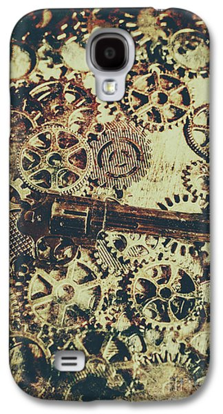 Miniature Old Western Pistol Galaxy S4 Case by Jorgo Photography - Wall Art Gallery
