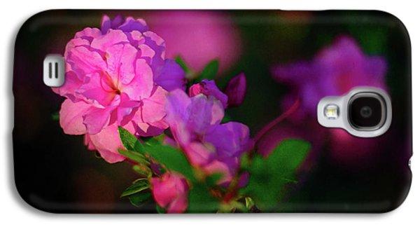 Galaxy S4 Case - Miniature Pink Azaleas by Tamyra Ayles
