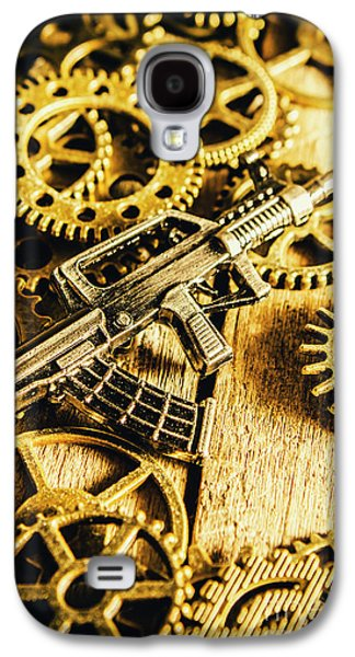 Miniature Qbz-95 Automatic Rifle Galaxy S4 Case by Jorgo Photography - Wall Art Gallery
