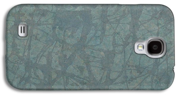 Subtle Colors Galaxy S4 Cases - Minimal Number 3 Galaxy S4 Case by James W Johnson