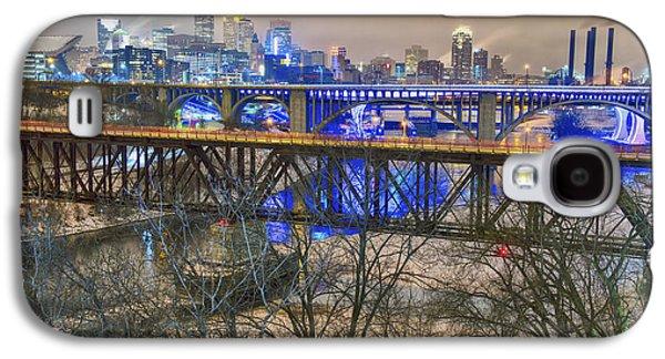 Minneapolis Bridges Galaxy S4 Case by Craig Voth