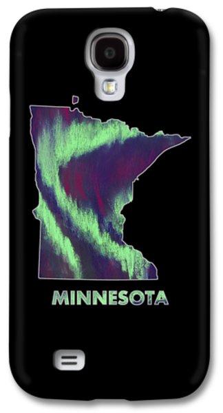 Minnesota - Northern Lights - Aurora Hunters Galaxy S4 Case by Anastasiya Malakhova