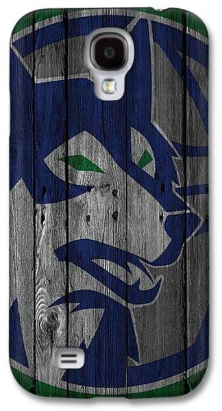 Minnesota Timberwolves Wood Fence Galaxy S4 Case