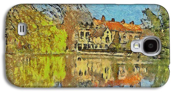 Minnewater Lake In Bruges Belgium Galaxy S4 Case