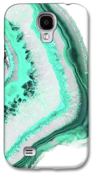 Mint Agate Galaxy S4 Case by Emanuela Carratoni