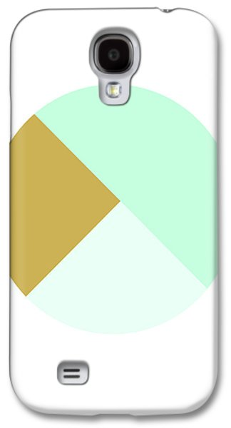 Mint And Gold Ball- By Linda Woods Galaxy S4 Case