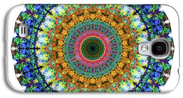 Miracle Mandala Art By Sharon Cummings Galaxy S4 Case by Sharon Cummings
