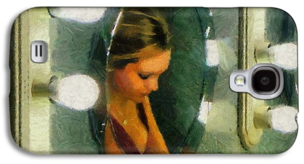 Mirror Mirror On The Wall Galaxy S4 Case by Jeff Kolker