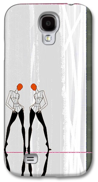 Mirror Reflections Galaxy S4 Case by Naxart Studio